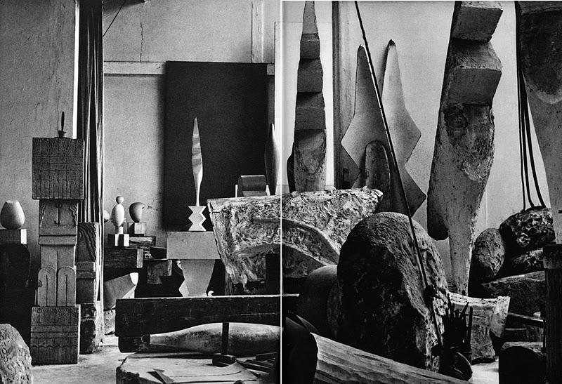 Constantin Brâncusi's studio