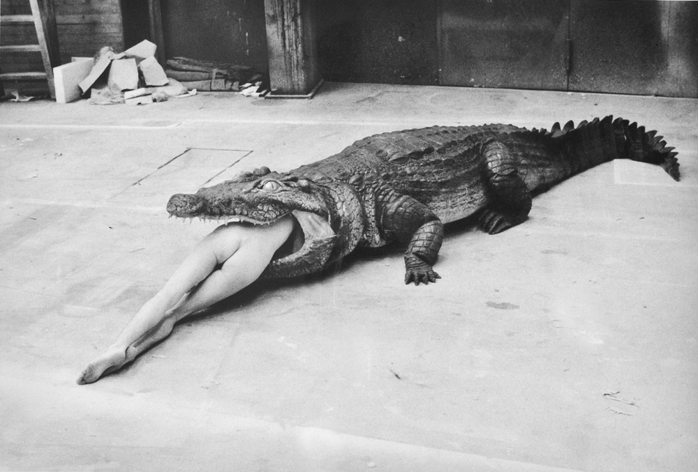 The Legend of Virginity, A Scene from Pina Bausch's Ballet, Wuppertal, Helmut Newton, 1983
