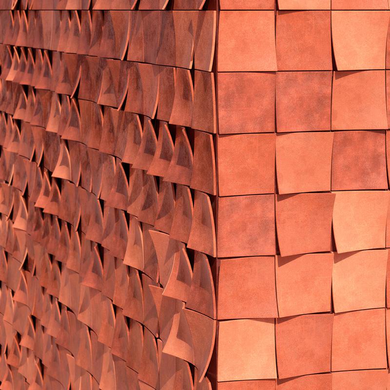 BrickBark facade