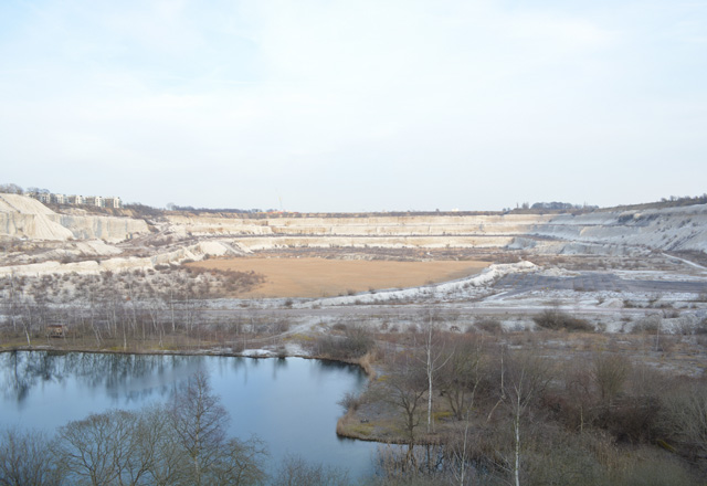 Limhamn quarry in Malmö, Sweden, 2015