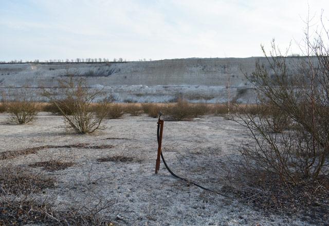 Limhamn quarry in Malmö, Sweden, 2015